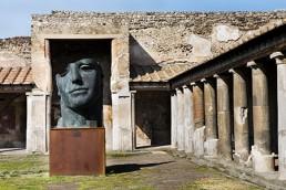 ROSA MARINIELLO - Pompei Scavi - Scultura di Igor Mitoraj