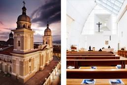 ROSA MARINIELLO - NUESTRA SENORA DE LA ASUNCION - SANTIAGO - CUBA | Dives in Misericordia - Roma - Arch. Richard MeierCATHEDRAL - SANTIAGO, CUBA