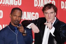 ROSA MARINIELLO - Jamie Foxx and Quentin Tarantino - Rome
