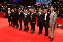 ROSA MARINIELLO - Hugh Bonneville, George Clooney, John Goodman, Justus von Dohnayi, Matt Demon, Bob Balaban, Dimitri Leonidas, Jean Dujardin, Bill Murray - 64th Berlinale International Film Festival - Berlin